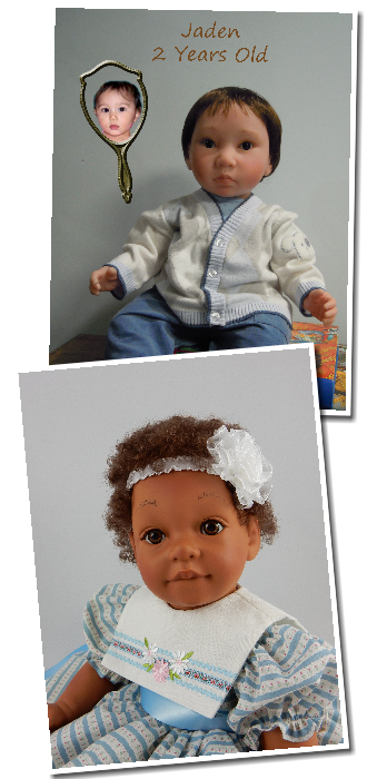 Dolls That Look Like Your Child, Toddler and Baby Dolls That Look Real Cluster Photo