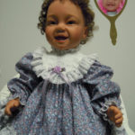 Dolls That Look Like Your Child in Purple Floral Dress