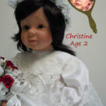 Doll That Looks Like Your Child Dressed in White Lace