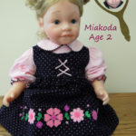 Dolls That Look Like Your Child Wearing Polka Dot Jumper