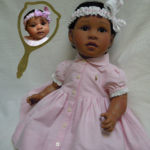 Doll That Looks Like Your Child wearing pink shirtdress