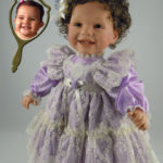 Doll That Looks Like Your Child Wearing Lavender Lace