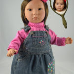 Dolls That Look Like Your Child Wearing Denim Jumper