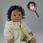 Photo Doll Wearing Ivory Jacket