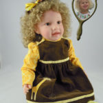 Photo Doll Wearing With Curly Hair