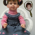 Photo Doll with Pigtails