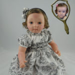 Photo Doll Wearing Smocked Dress