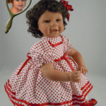 Dolls That Look Like Your Child Wearing Polka Dot Dress