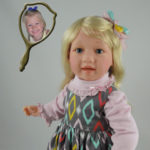 Doll That Looks Like Your Child with Pale Blonde Hair
