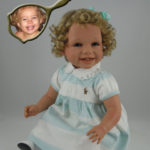Dolls That Look Like Your Child Dressed in Aqua Striped Polo