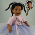 Doll That Looks Like Your Child Wearing Purple Tutu
