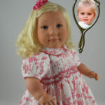 Doll That Looks Like Your Child in Floral Dress