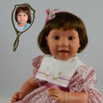 Doll That Looks Like Your Child Wearing Pink Rosebud Dress