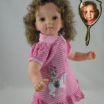 Photo Doll with Curly Hair