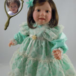 Doll That Looks Like Your Child Dressed in Mint Lace