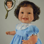 Photo Doll Dressed in Blue
