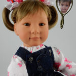 Doll that Looks Like Your Child with Pigtails