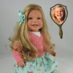 Doll That Looks Like Your Child with Long Blonde Hair