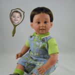 Doll That Looks Like Your Child Boy in Romper