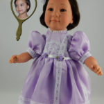 Doll That Looks Like Your Child Wearing Lavender Dress