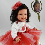 Doll That Looks Like Your Child Wearing Red Tutu