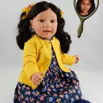 Doll that looks like your child with long pony tails