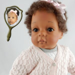 Doll that looks like your child created for six-month old Khloe