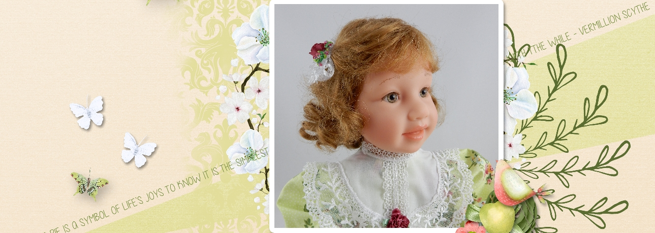 Doll in the Looking Glass - Dolls that Look Like Your Child