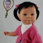 Photo Doll of 11-Month Old Kyria