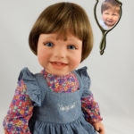Photo Doll of 1 Year Old Abigail