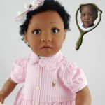 Doll That Looks Like Your Child Created from a Photo of Kaloni Grace