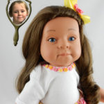 Doll That Looks Like Your Child Created from a Photo of Gracie