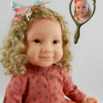Doll That Looks Like Your Child created from a photo of Clara