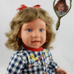 Photo Doll Created for Mabel Louise